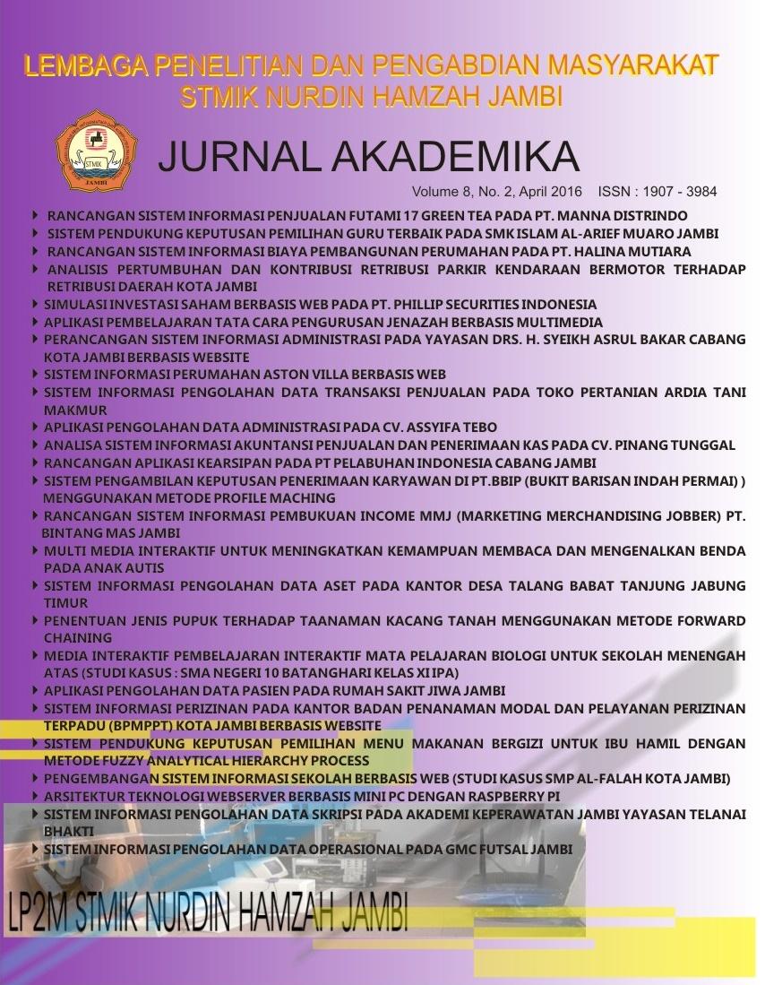 Akademika STMIK Nurdin Hamzah